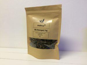 Bio konopný čaj